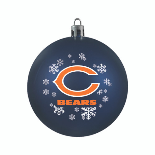 Chicago Bears Ornament Shatterproof Ball Special Order