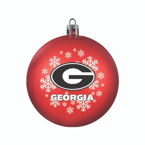 Georgia Bulldogs Ornament Shatterproof Ball Special Order