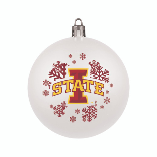 Iowa State Cyclones Ornament Shatterproof Ball Special Order