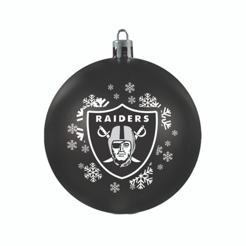 Las Vegas Raiders Ornament Shatterproof Ball Special Order