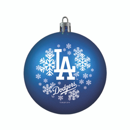 Los Angeles Dodgers Ornament Shatterproof Ball Special Order