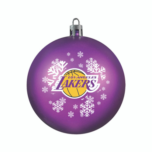 Los Angeles Lakers Ornament Shatterproof Ball Special Order