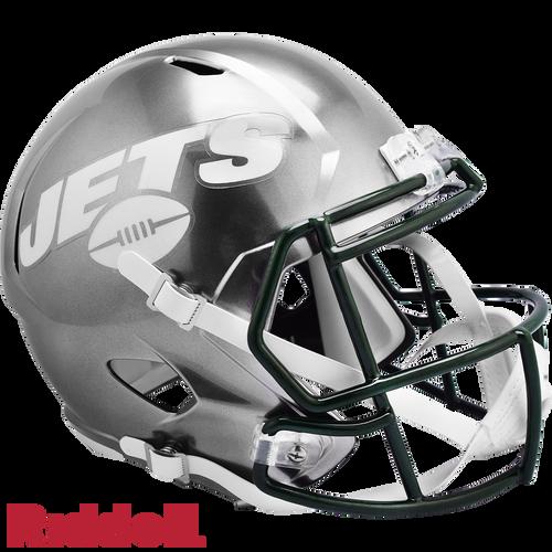 New York Jets Helmet Riddell Replica Full Size Speed Style FLASH Alternate