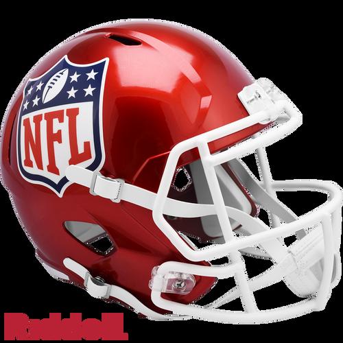 NFL Shield Helmet Riddell Replica Full Size Speed Style FLASH Alternate