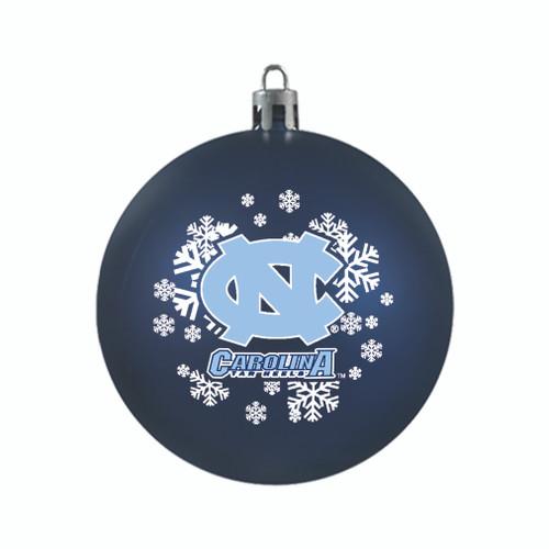 North Carolina Tar Heels Ornament Shatterproof Ball Special Order