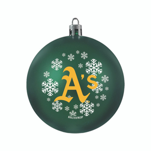 Oakland Athletics Ornament Shatterproof Ball Special Order