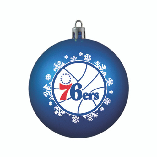 Philadelphia 76ers Ornament Shatterproof Ball Special Order