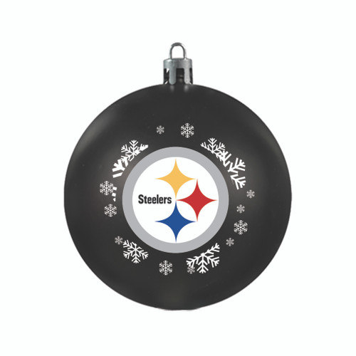 Pittsburgh Steelers Ornament Shatterproof Ball Special Order