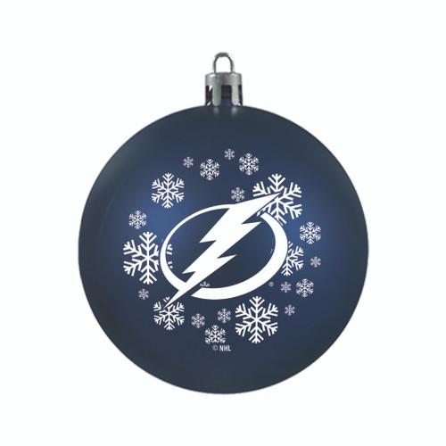 Tampa Bay Lightning Ornament Shatterproof Ball Special Order
