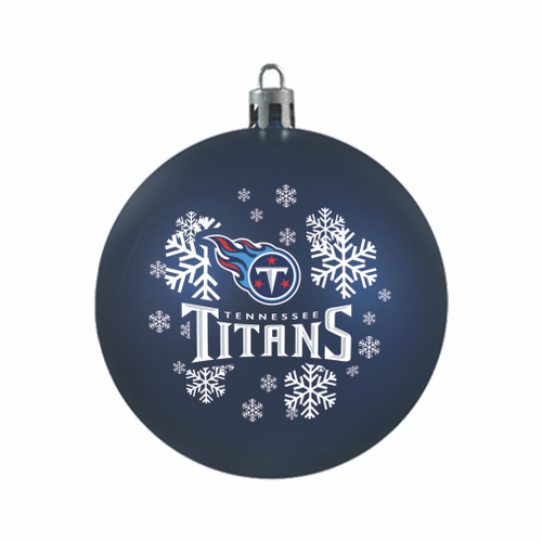 Tennessee Titans Ornament Shatterproof Ball Special Order