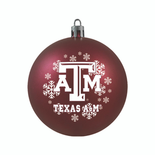 Texas A&M Aggies Ornament Shatterproof Ball Special Order