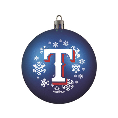 Texas Rangers Ornament Shatterproof Ball Special Order