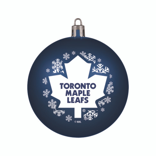 Toronto Maple Leafs Ornament Shatterproof Ball Special Order