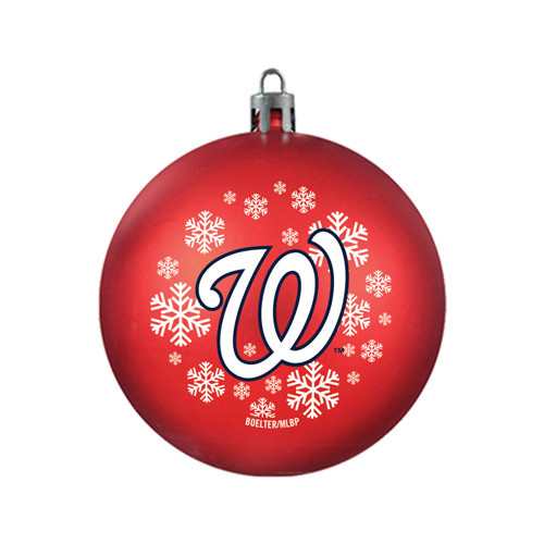 Washington Nationals Ornament Shatterproof Ball Special Order