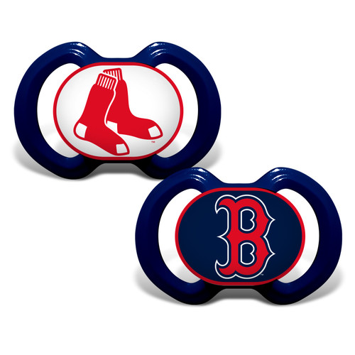 Boston Red Sox Pacifier 2 Pack Alternate