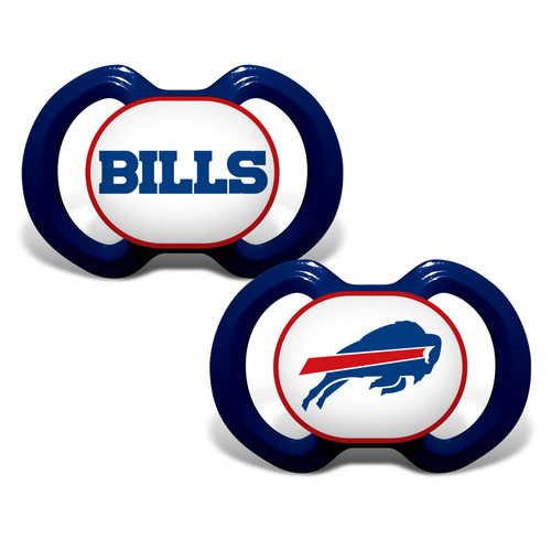 Buffalo Bills Pacifier 2 Pack Alternate