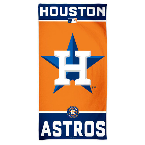 Houston Astros Towel 30x60 Beach Style