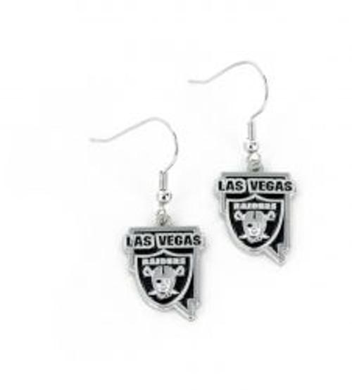 Las Vegas Raiders Earrings State Design