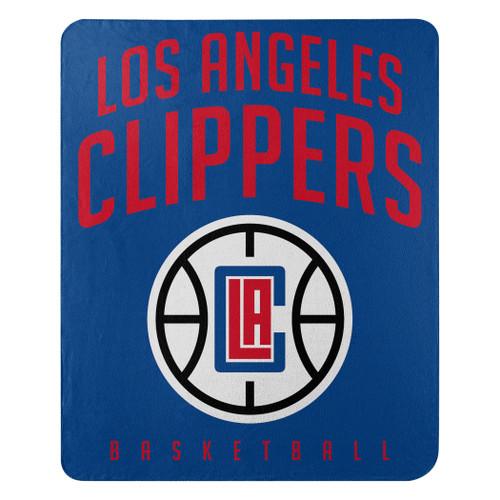 Los Angeles Clippers Blanket 50x60 Fleece Layup Design