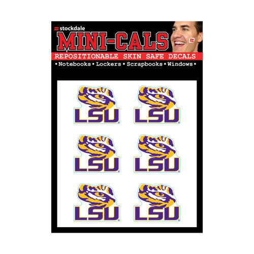 LSU Tigers Tattoos Face Cals Temporary