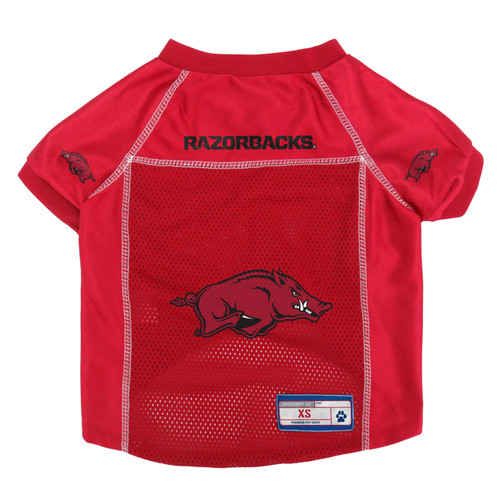 Arkansas Razorbacks Pet Jersey Size XS