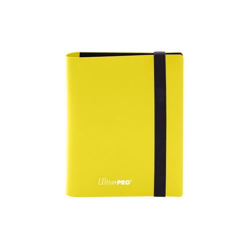 2 Pocket PRO Binder Eclipse Lemon Yellow Special Order