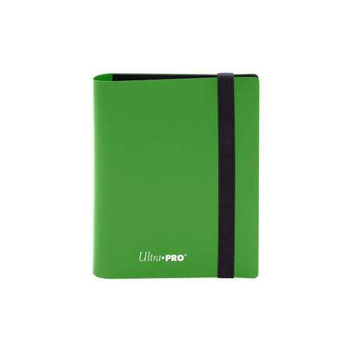 2 Pocket PRO Binder Eclipse Lime Green Special Order