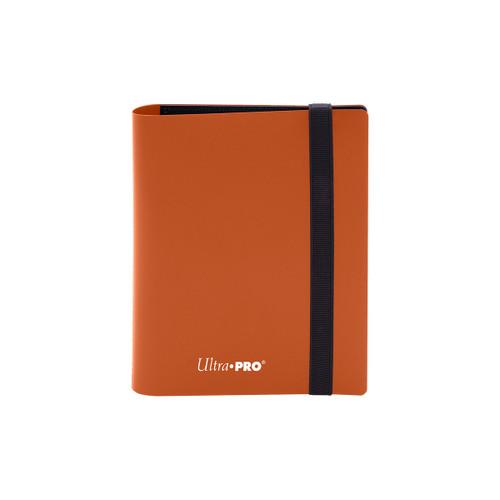 2 Pocket PRO Binder Eclipse Pumpkin Orange Special Order
