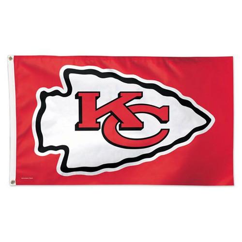 Kansas City Chiefs Flag 3x5 Deluxe Style