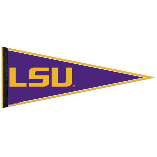 LSU Tigers Pennant 12x30 Classic Style Special Order