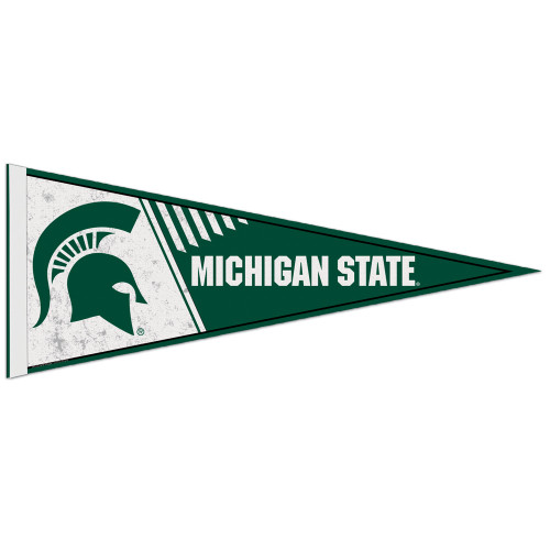Michigan State Spartans Pennant 12x30 Classic Style Special Order