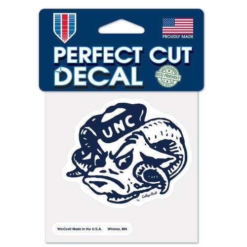 North Carolina Tar Heels Decal 4x4 Perfect Cut Color College Vault Special Order