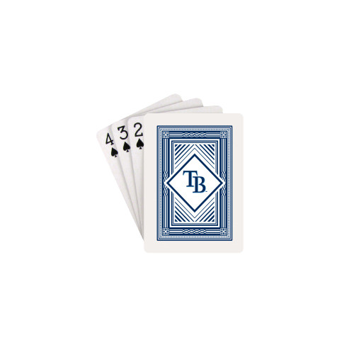 Tampa Bay Rays Playing Cards Logo Classic Special Order