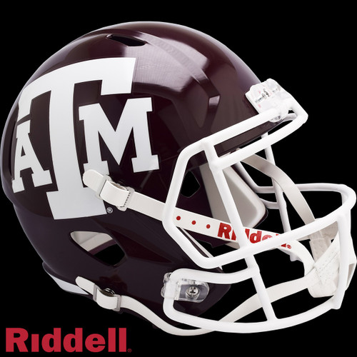 Texas A&M Aggies Helmet Riddell Replica Full Size Speed Style Maroon Special Order