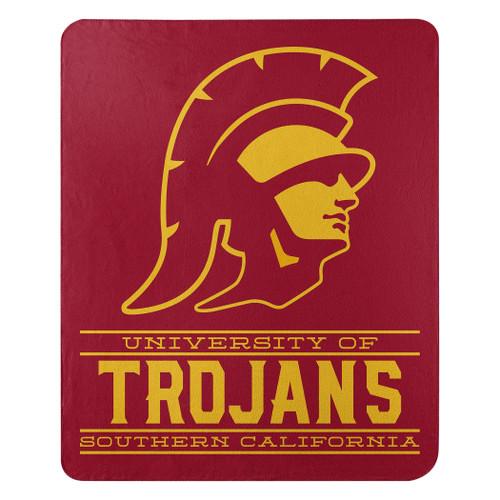 USC Trojans Blanket 50x60 Fleece Control Design Special Order