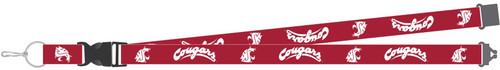 Washington State Cougars Lanyard Red Special Order