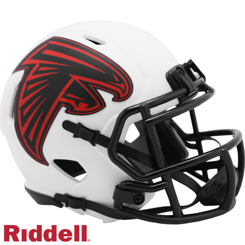 Atlanta Falcons Helmet Riddell Replica Mini Speed Style Lunar Eclipse Alternate