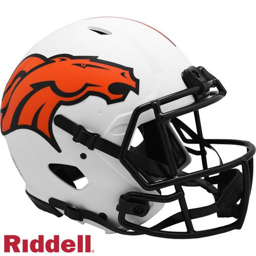 Denver Broncos Helmet Riddell Authentic Full Size Speed Style Lunar Eclipse Alternate