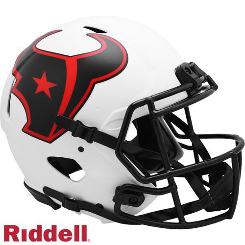Houston Texans Helmet Riddell Authentic Full Size Speed Style Lunar Eclipse Alternate