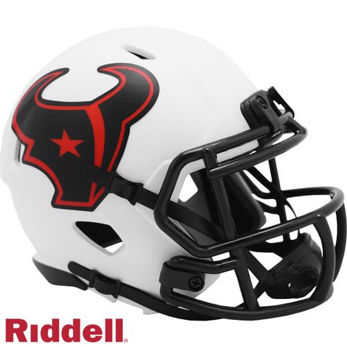 Houston Texans Helmet Riddell Replica Mini Speed Style Lunar Eclipse Alternate