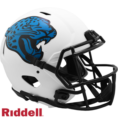 Jacksonville Jaguars Helmet Riddell Authentic Full Size Speed Style Lunar Eclipse Alternate