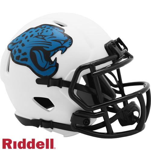 Jacksonville Jaguars Helmet Riddell Replica Mini Speed Style Lunar Eclipse Alternate