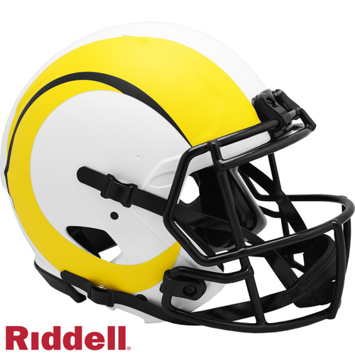 Los Angeles Rams Helmet Riddell Authentic Full Size Speed Style Lunar Eclipse Alternate