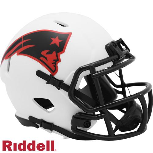 New England Patriots Helmet Riddell Replica Mini Speed Style Lunar Eclipse Alternate