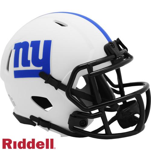 New York Giants Helmet Riddell Replica Mini Speed Style Lunar Eclipse Alternate