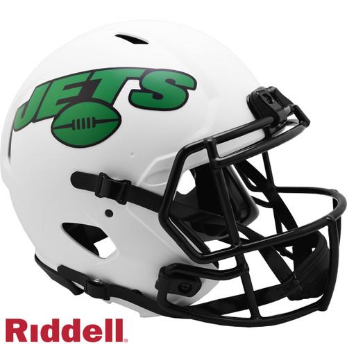 New York Jets Helmet Riddell Authentic Full Size Speed Style Lunar Eclipse Alternate