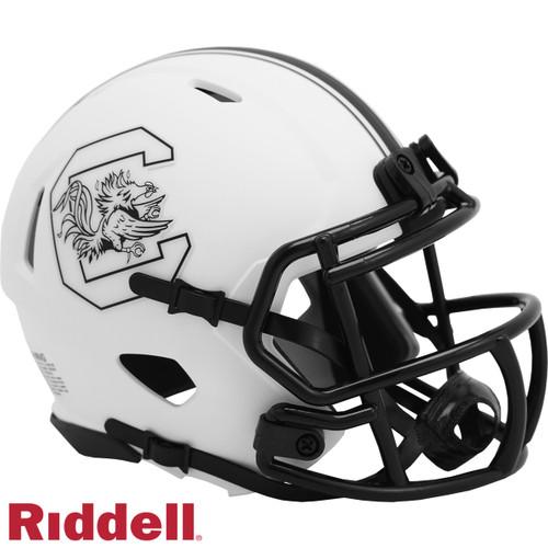 South Carolina Gamecocks Helmet Riddell Replica Mini Speed Style Lunar Eclipse Alternate