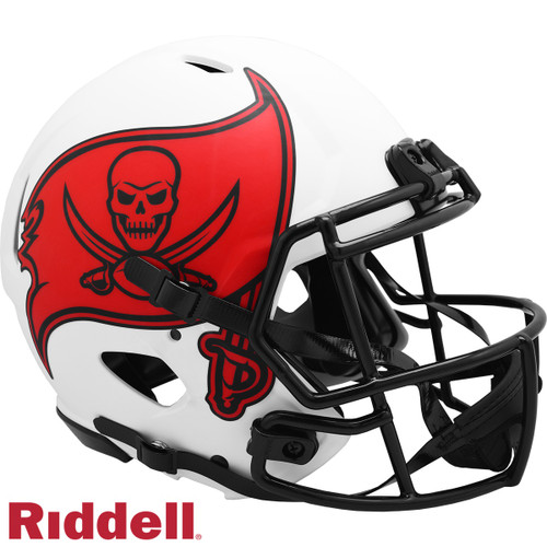 Tampa Bay Buccaneers Helmet Riddell Authentic Full Size Speed Style Lunar Eclipse Alternate