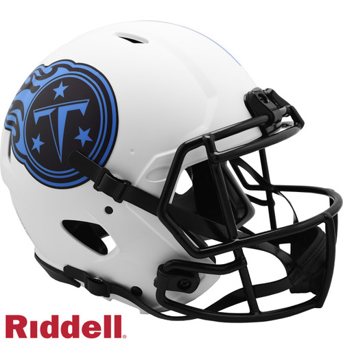Tennessee Titans Helmet Riddell Authentic Full Size Speed Style Lunar Eclipse Alternate