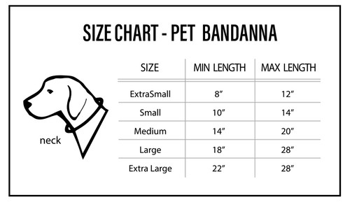Tampa Bay Buccaneers Pet Bandanna Size XS Alternate
